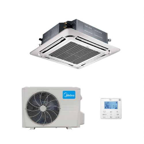 Midea Air Conditioning MCD-24HRFN1 Super Slim Round Flow Cassette Inverter Heat Pump 7Kw/24000Btu A++ 240V~50Hz